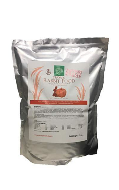 Small Pet Select Choice Rabbit Food Pellets Made W/Pumpkin Seeds