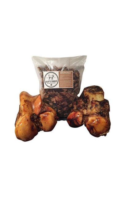 Lilly's Choice Dog Bones and Treats for Large Aggressive Chewers - Beef Knuckle with Bone Marrow