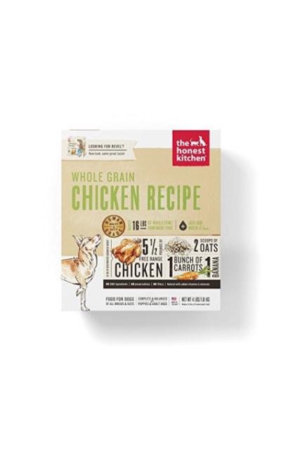 The Honest Kitchen Human Grade Dehydrated Organic Grain Dog Food