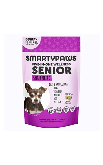 SmartyPaws Multifunctional Dog Supplement Chew