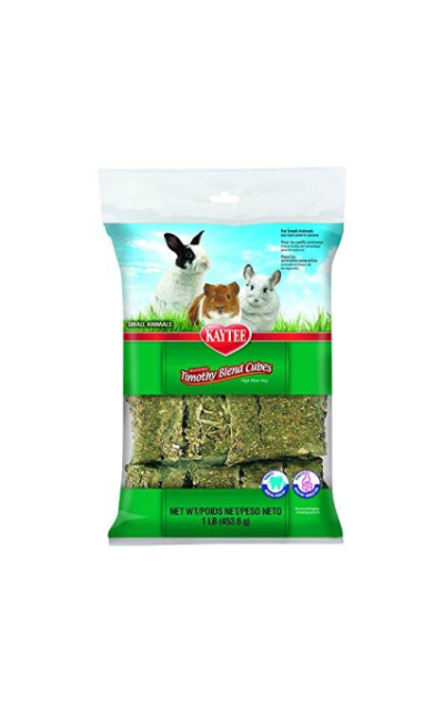 Kaytee Natural Timothy Blend Cubes For Rabbits & Small Animals