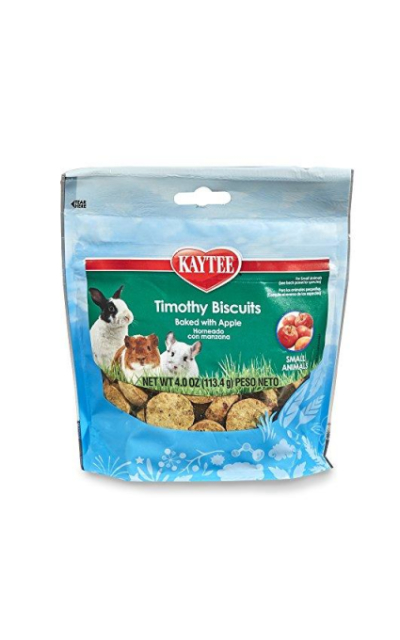Kaytee Timothy Biscuits Baked Apple Treat, 4Oz Bag
