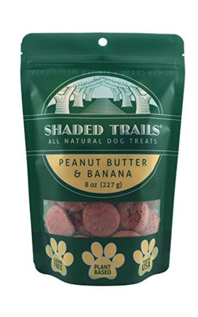 Shaded Trails All Natural Crunchy Dog Treats 8 oz - Vegan & Grain Free