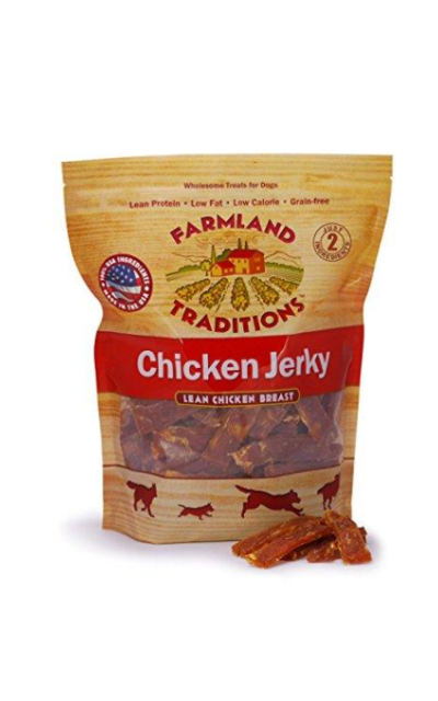Farmland Traditions USA Made Jerky Dog Treats