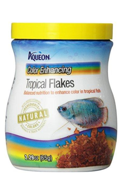 Aqueon Tropical Color Enhancing Flakes