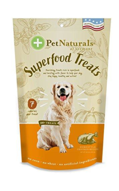 Pet Naturals of Vermont Superfood Treats for dogs