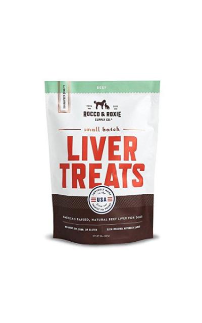 Rocco & Roxie All Natural Liver Dog Treats