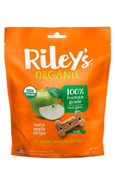 Riley's Organics Apple Bone Treats