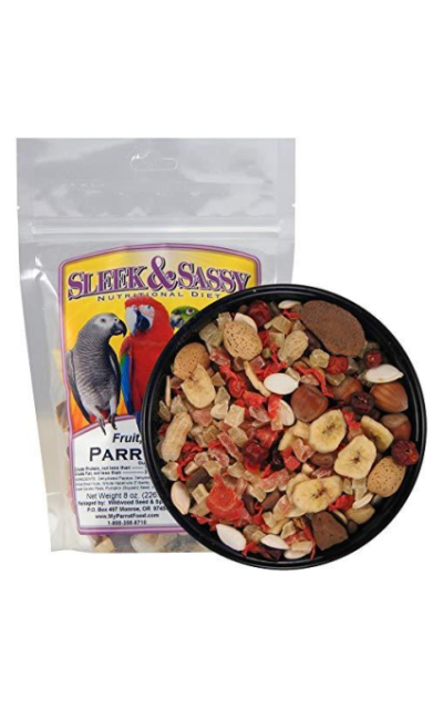Sleek & Sassy Fruit, Veggie, Nut Parrot Treat