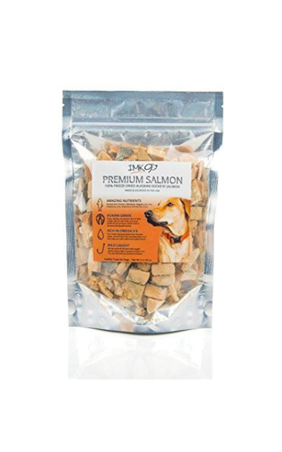 Freeze Dried Salmon Dog Training Treats