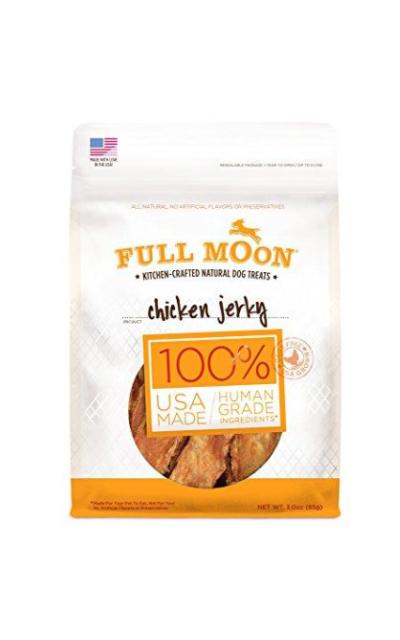 Full Moon All Natural Human Grade Chicken Jerky Dog Treats