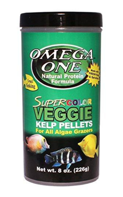 Omega One Super Kelp Pellets- Sinking 8oz.