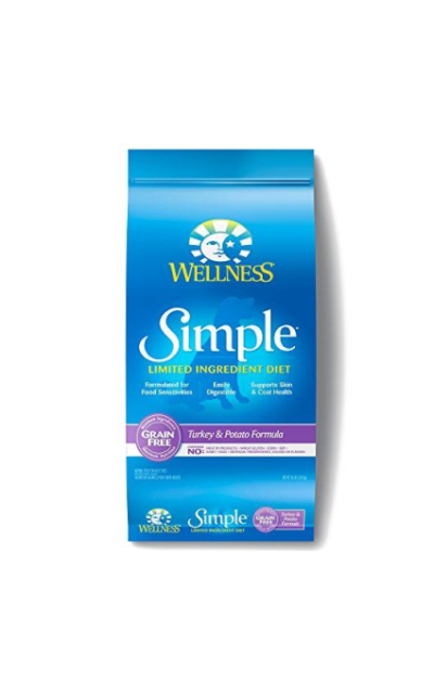 Wellness Simple Natural Limited Ingredient Dry Dog Food Turkey & Potato