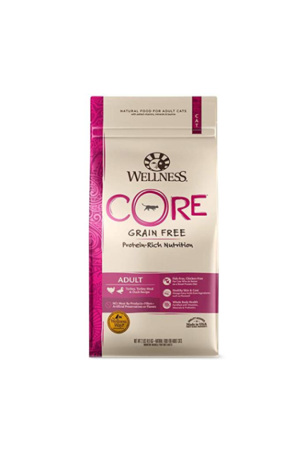 Wellness Core Natural Grain Free Dry Cat Food Turkey & Duck