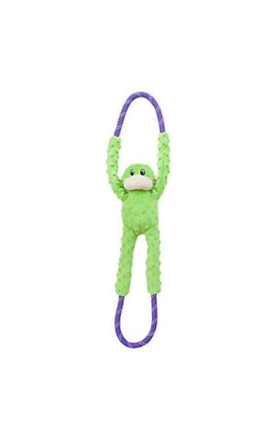ZippyPaws Monkey RopeTugz - Plush and Rope Dog Toy
