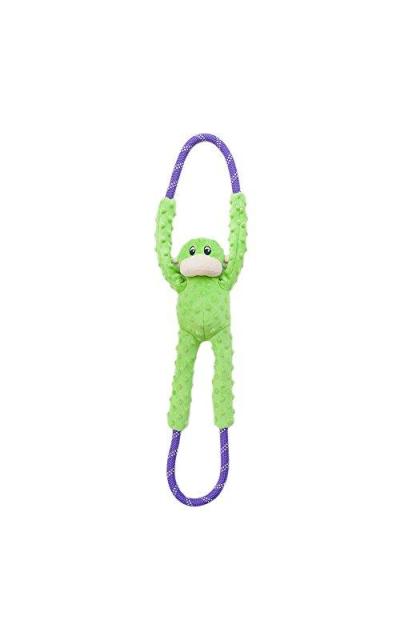 ZippyPaws Monkey RopeTugz - Plush and Rope Dog Toy