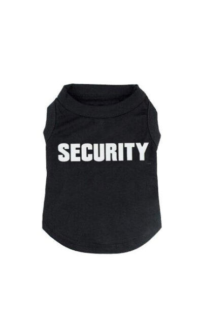 BINGPET Security Dog Shirt