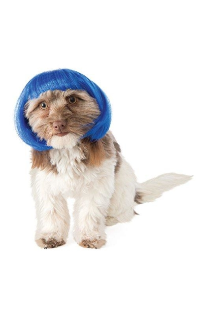 Rubies Costume Blue Bob Dog Wig