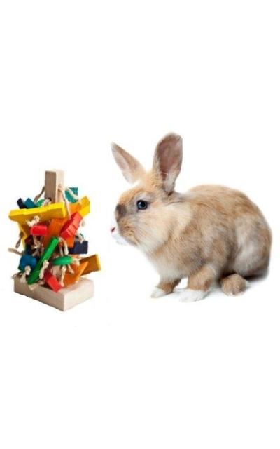 """""""The Tree"""" Pet Rabbit Toy"""