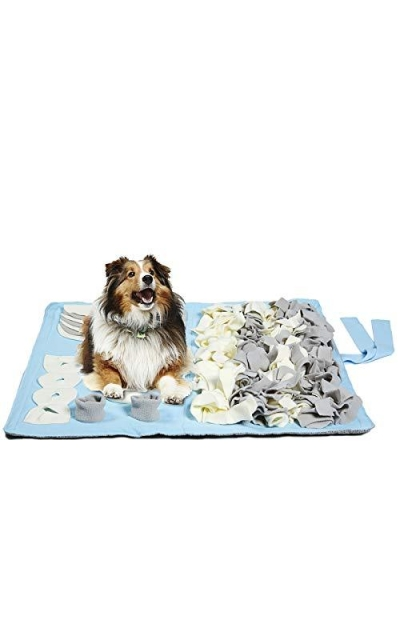 Petvins Dog Feeding Mat Snuffle Nose Work Training Foraging Mat