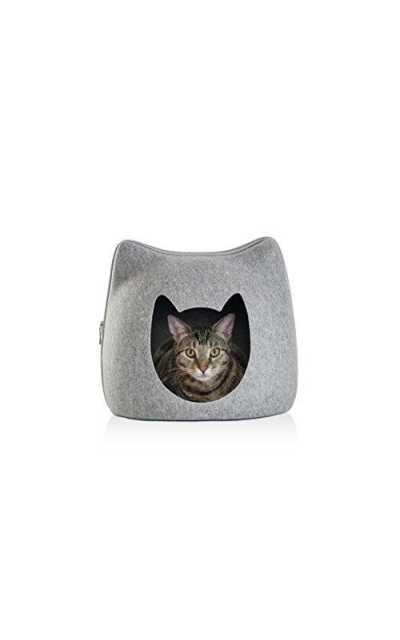 Furhaven Pet Cat Furniture | Felt Pet Bed