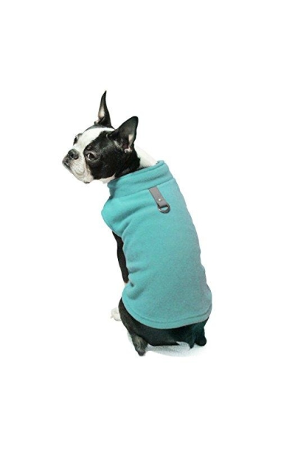 Gooby Every Day Fleece Cold Weather Dog Vest for Small Dogs