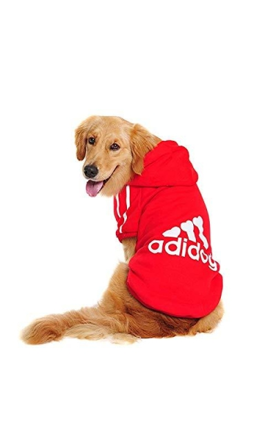 leson Dog Clothes Hoodie for Big Dogs