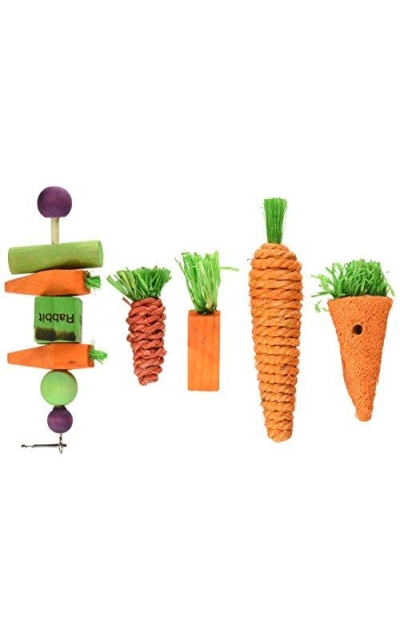 Kaytee Chew & Treat Toy Assortment for Rabbits (5 Pack)