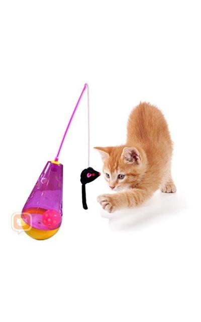 Purrfect Feline Wacky Tumbler - Premium Interactive Cat Toy