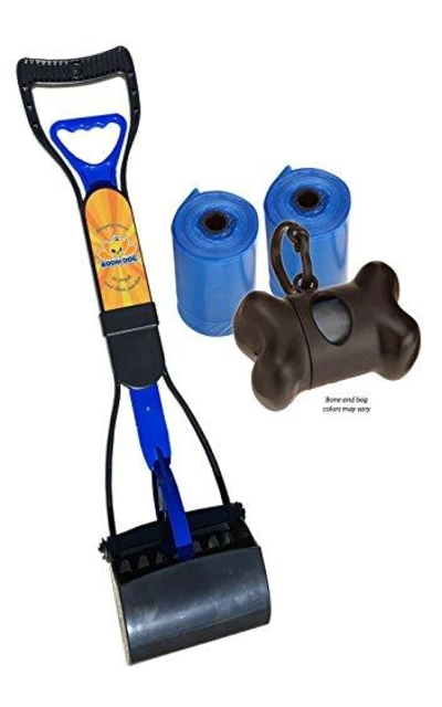 New Complete Poo Pack | Pooper Scooper, Poop Bags, and Pet Dog Waste Bag Holder