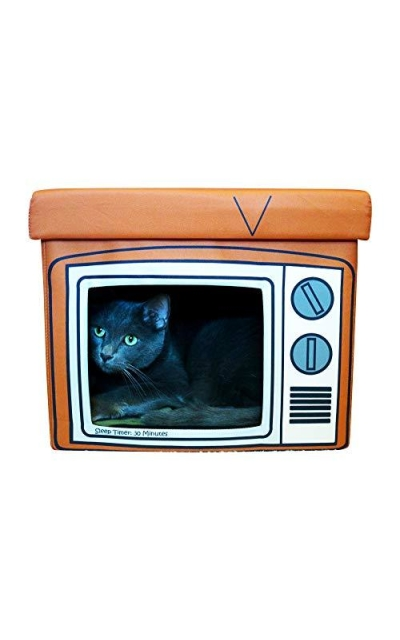 Feline Ruff TV Indoor Cat House