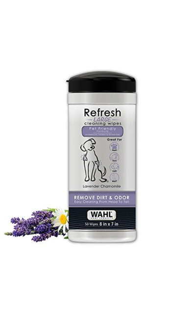 WAHL Dog/Pet Refresh Cleaning Wipes