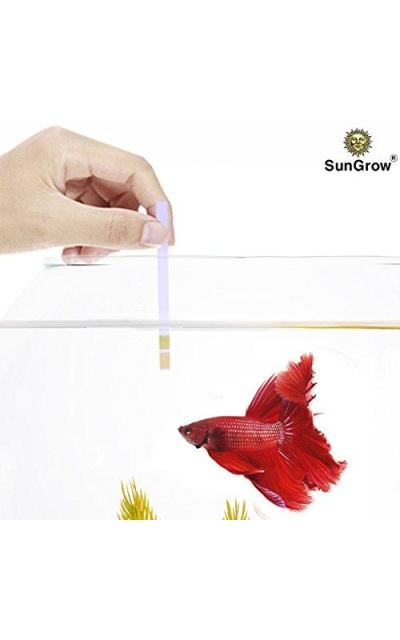 SunGrow Betta pH Test Strips - Just dip & Read