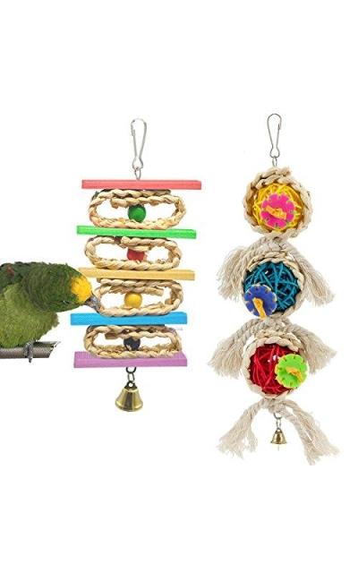 MEWTOGO Small Parrot Toys