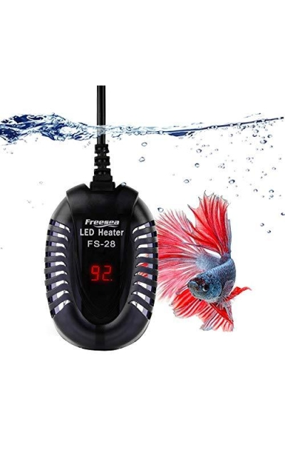 FREESEA 50W 75W 100W 200W 300W Aquarium Fish Tank Heater with LED Temperature Display