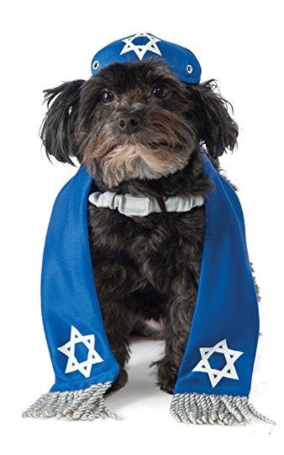 Rubie's Yarmulke and Tallis Dog Costume