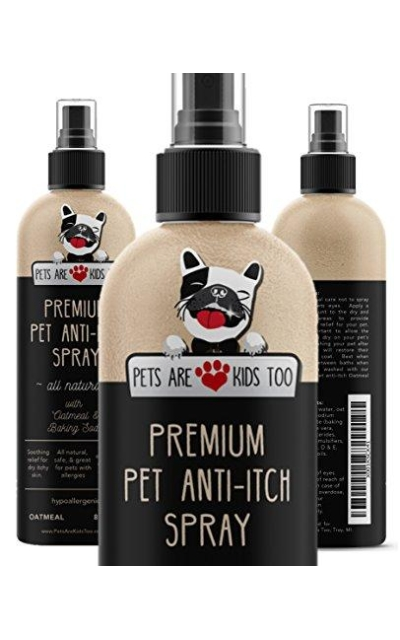 Premium Pet Anti Itch Spray & Scent Freshener