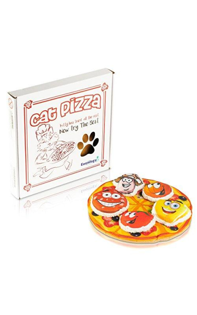 Easyology Cat Toys Interactive Pizza