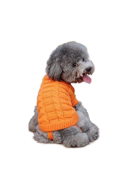 WORDERFUL Dog Sweater Turtleneck Sweater