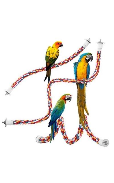 Jusney Bird Rope Perches