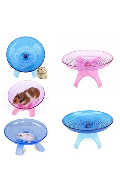 Zehui Cute Ultra-Quiet Non Slip Hamster Toy Stable Flying Saucer