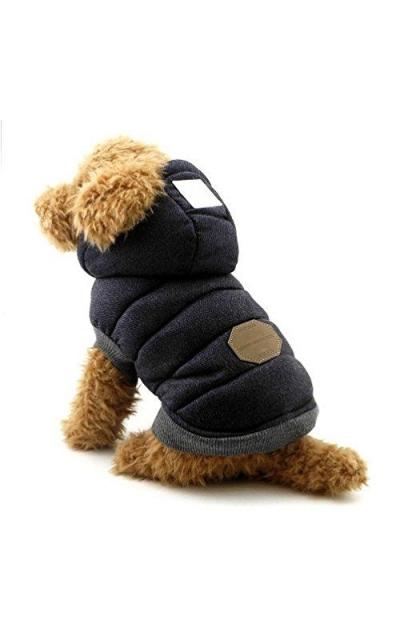 SELMAI Hooded Dog Coat