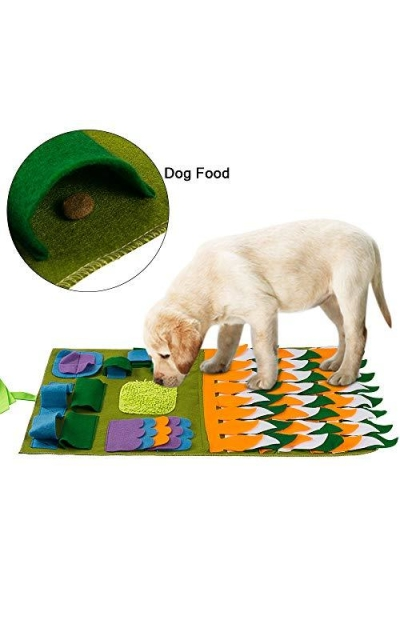Green House Dog Snuffle Mat Pet Puzzle Toy