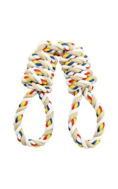 Hinry Life Tug Rope Toys for Extra Large Breed, 100% Cotton Indestructible Dog Toys for Aggressive chewers, Training Toy for Large Breeds