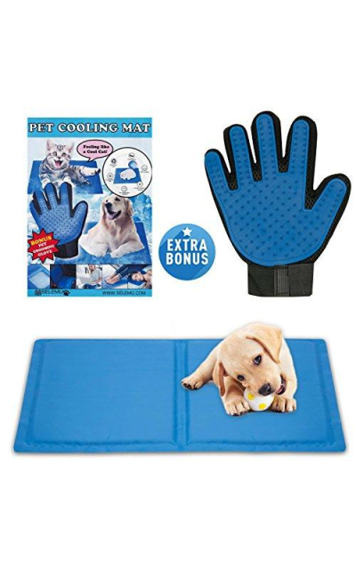 Pet Cooling Gel Mat Bed for Dogs & Cats