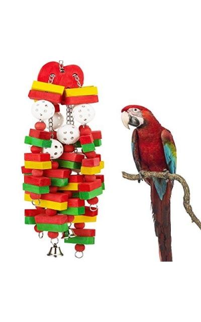 MEWTOGO Bird Block Toys with Bells