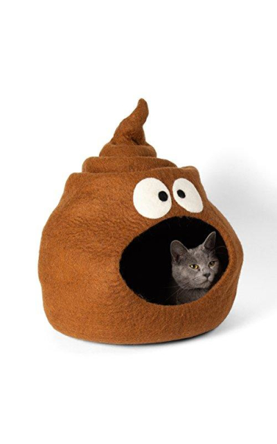 Twin Critters - Handcrafted Cat Cave Bed (Large)