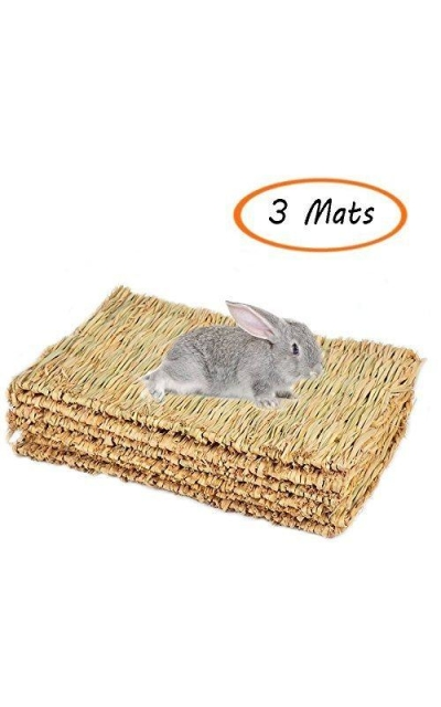 Grass Mat,Woven Bed Mat for Small Animal