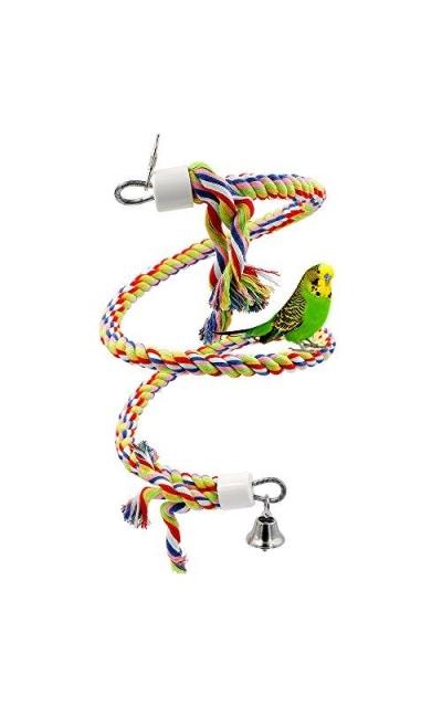 Rope Bungee Bird Toy