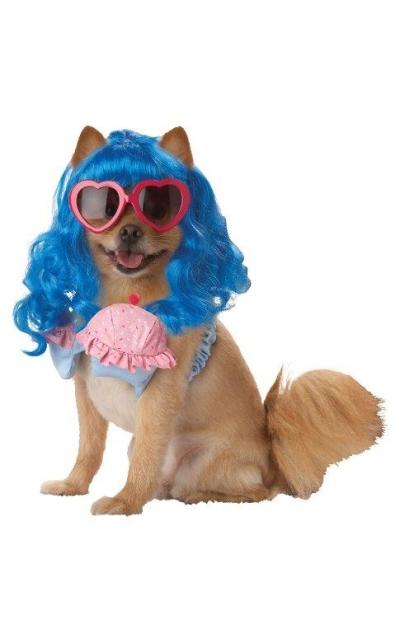 Pup-A-Razzi Cupcake Girl Girl Dog Costume